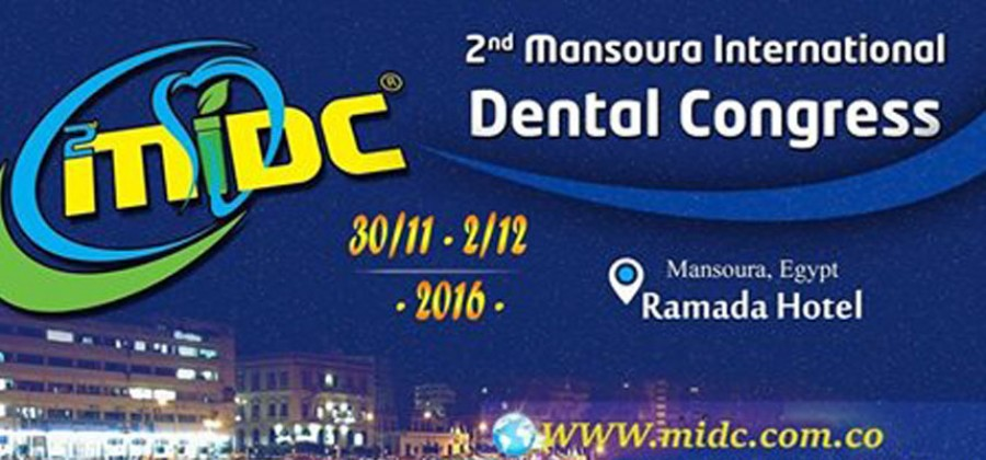 welcome you to the second Mansoura International Dental Congress