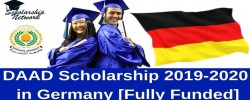 DAAD scholarships (Fully Funded) for 2019/2020
